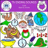 Th Ending Sounds Clip Art