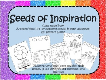 Thank You Book: You're an Inspiration