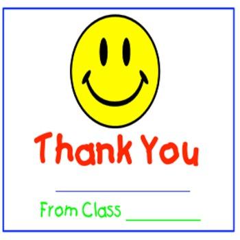 Classroom Management-Thank You/ Appreciation Classbook
