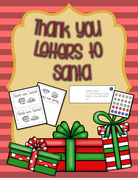 Thank You Letters to Santa