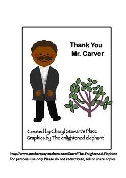 Thank You Mr. George Washington Carver