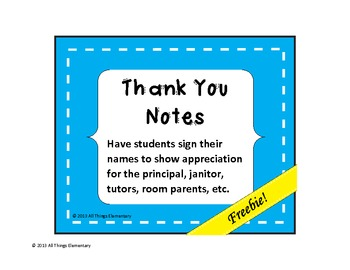 Thank You Notes for Staff Appreciation