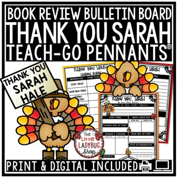 Thank You, Sarah - Thanksgiving Read Aloud