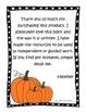 Thank You, Sarah Literacy Unit