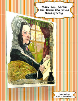Thank You, Sarah The Woman Who Saved Thanksgiving