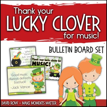 Thank Your Lucky Clover for Music - St. Patty's Music Advo