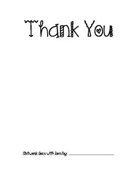 Thank you form  English/Spanish