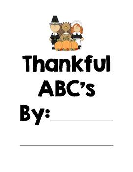 Thankful ABC's Book
