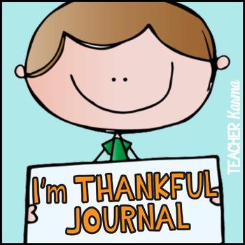 Thankful Journal ~ Gratitude Interactive Writing ~ Thanksg