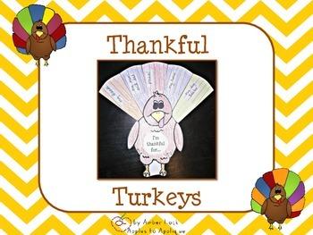 Thankful Turkey Activity