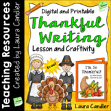 FREE Thankful Writing Craftivity