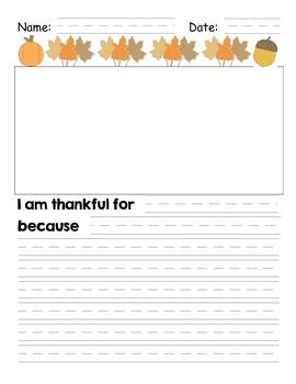 Thankful Writing FREE