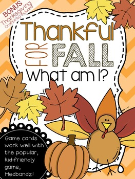 Thankful for Fall {FREEBIE}