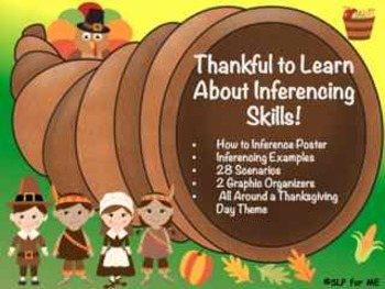 Thankful to Learn About and Practice Inferencing Skills -