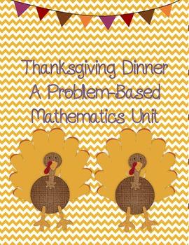 Thanksgiving Dinner Math Unit