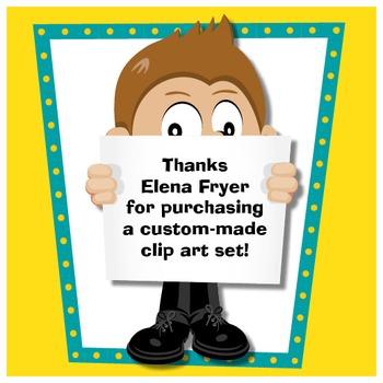Custom Clip Art Project to Elena Fryer.