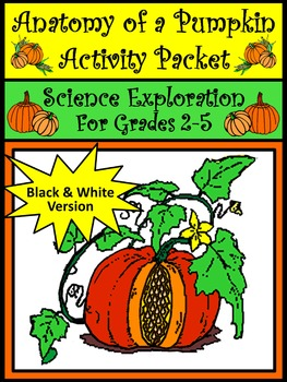 Thanksgiving Activities: Anatomy of a Pumpkin Activity Packet