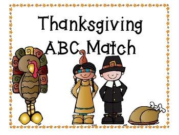 Thanksgiving ABC Match