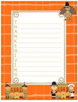 Thanksgiving Acrostic