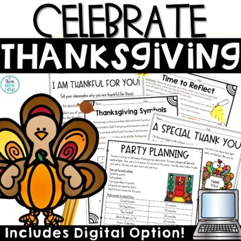 Thanksgiving Activities Non-Fiction
