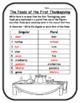 Thanksgiving Activities Grammar Thanksgiving Foods Singula