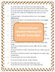 Thanksgiving Activities Lapbook Author's Purpose Fluency C