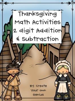 Thanksgiving Activities- Math