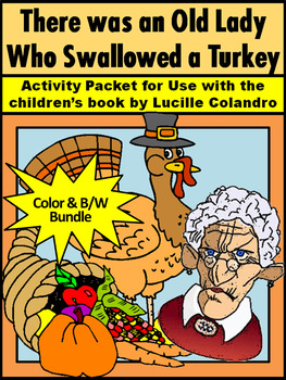 Thanksgiving Activities: Old Lady Who Swallowed a Turkey A