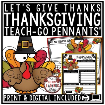Thanksgiving Activities • Thanksgiving Writing •  Thanksgi