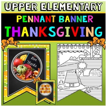 Thanksgiving Activity: Thanksgiving Banner: Thanksgiving W