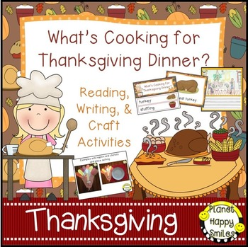 Thanksgiving Activity ~ What is Cooking for Thanksgiving D