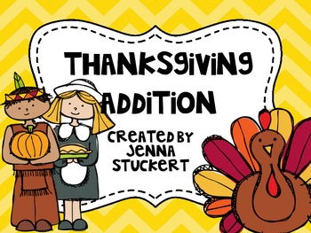 Thanksgiving Addition {An Addition Review Game}