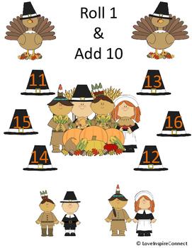Thanksgiving Addition Bump Game