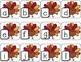Thanksgiving ABC Match-Up - Turkey Letter Matching Pocket