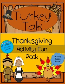 Thanksgiving Assorted Activities Unit