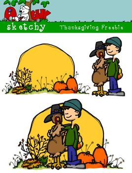 Thanksgiving / Autumn / Fall Clipart Freebie 300dpi Color,