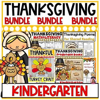 Thanksgiving BUNDLE! Half Price Printables, Journal, Craft
