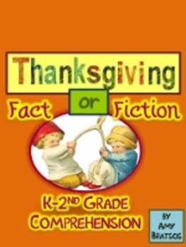 Thanksgiving Beginning Reader Literacy & Social Studies Co