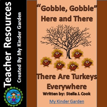Thanksgiving Sight Word Book Gobble Gobble Here and There