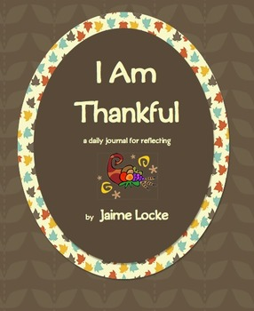 Thanksgiving Book: I Am Thankful...