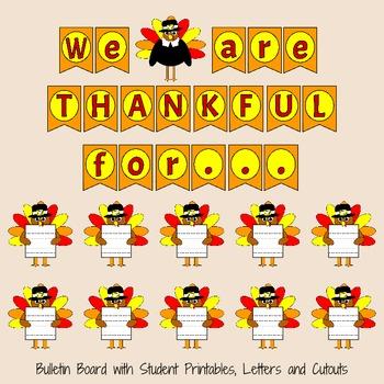 Thanksgiving Bulletin Board Set