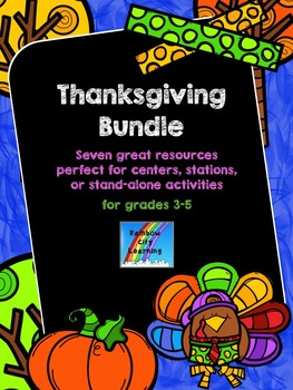 Thanksgiving Activities Bundle