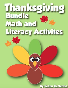 Thanksgiving Bundle - Thanksgiving Math and Literacy Activities