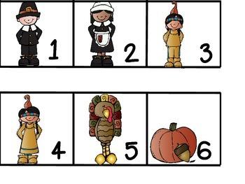 Thanksgiving Calendar Cards