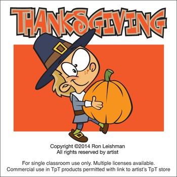 Thanksgiving Cartoon Clipart