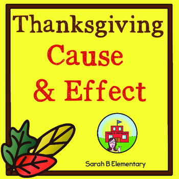 Thanksgiving Cause and Effect