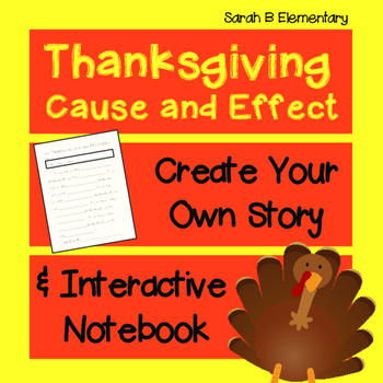 Thanksgiving Cause and Effect FREEBIE!