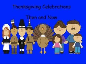 Thanksgiving Celebrations - SMARTboard Activity