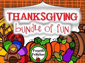 Thanksgiving BUNDLE of Fun!
