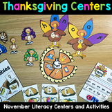 Thanksgiving Centers AND MORE - Literacy